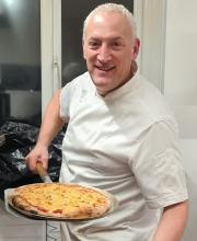 Our very own Pizza Chef!